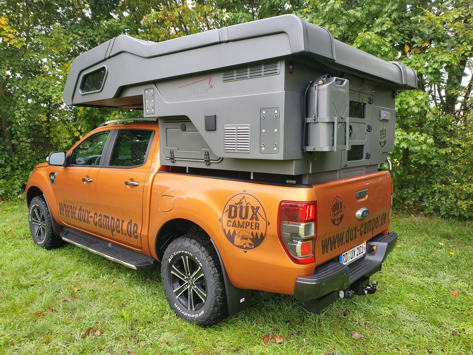 Dux Camper Camp Crown Stealth
